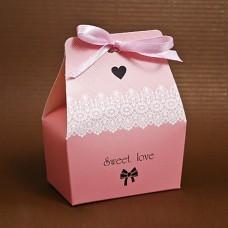 "Бонбоньерка ""Sweet love"" розовая"
