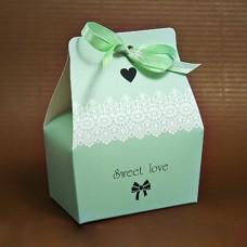 "Бонбоньерка ""Sweet love"" зеленая"