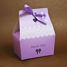 "Бонбоньерка ""Sweet love"" фиолетовая"