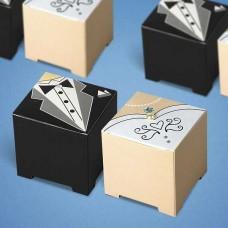 "Бонбоньерка - коробочка ""Жених и Невеста"""