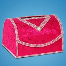 Сундучок для денег в розовом цвете