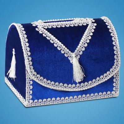 Сундучок для денег синего цвета