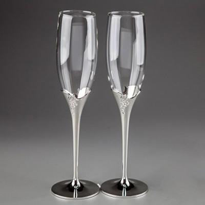 Свадебные бокалы с узором