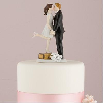 """Фигурка на торт """"Первый поцелуй"""""""