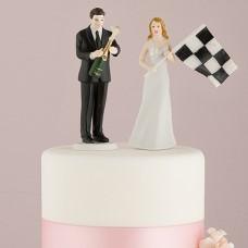 """Фигурка на торт """"Финишная прямая"""""""