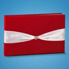 Книга для пожеланий красного цвета