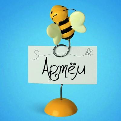 """Рассадочная карточка """"Пчелка"""""""