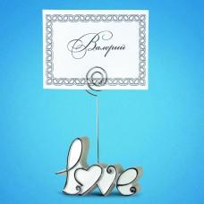 """Рассадочная карточка """"Love"""""""