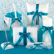 "Набор свадебных аксессуаров ""Classic turquoise"""