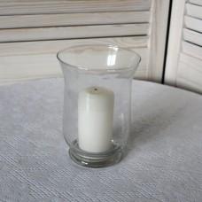 Подсвечник колокольчик стекло (ваза)
