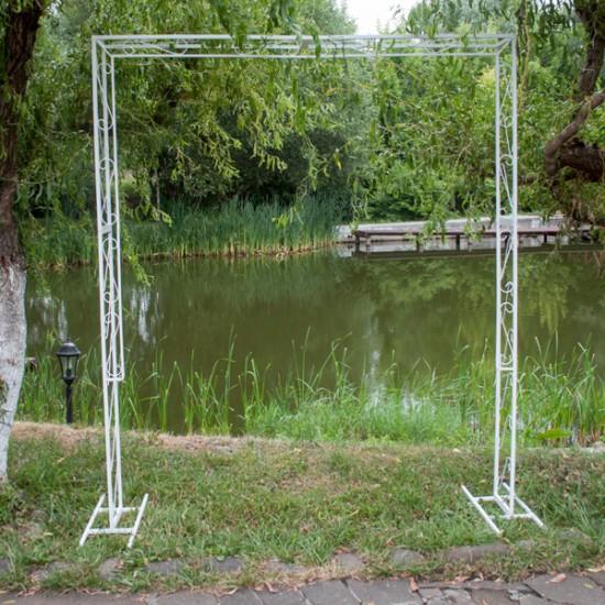 Как сделать квадратную арку для свадьбы