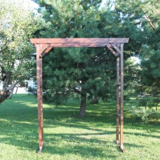 Прямоугольная деревянная  свадебная арка (каркас)