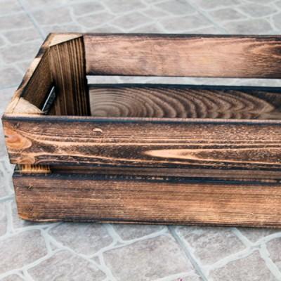 Ящик деревянный средний