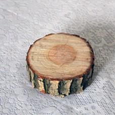 Деревянный срез маленький