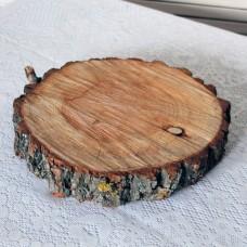 Деревянный спил плоский