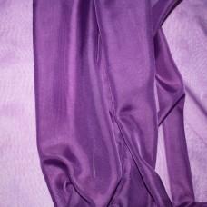 Штора вуаль фиолетового цвета