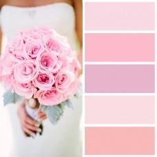 Свадьба в нежно розовом цвете